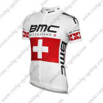 2014 Team BMC Cycling Jersey White Red