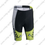 2014 Team GEOX FUJI Cycling Shorts Black Yellow