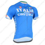 2014 Team ITALIA Castelli Cycling Jersey Blue