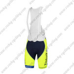 2014 Team Tinkoff SAXO BANK Cycling Bib Shorts Fluorescent Yellow