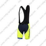 2014 Team Tinkoff SAXO BANK Riding Bib Shorts Fluorescent Yellow