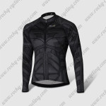 2015 Batman Cycling Long Jersey Black