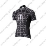 2015 Black Venom Spiderman Cycling Jersey