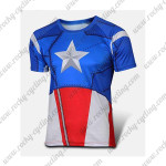 2015 Captain America Cycling T-shirt