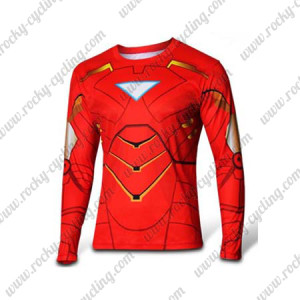 2015 Iron-Man Outdoor Sport Long Sleeves Cycling T-shirts