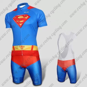 2015 Superman Returns Riding Uniform Blue Red