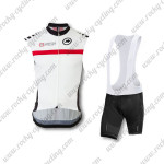 2015 Team ASSOS Cycling Bib Kit White