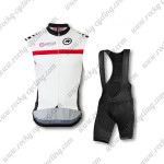2015 Team ASSOS Riding Bib Kit White