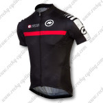 2015 Team ASSOS Riding Maillot Jersey Tops Shirt Black