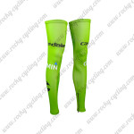 2015 Team Cannondale GARMIN Cycling Leg Warmers Sleeves Green