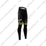 2015 Team Castelli Cycling Long Pants Black Green