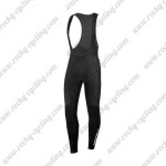 2015 Team Castelli Riding Long Bib Pants Black