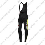 2015 Team Castelli Riding Long Bib Pants Black Green