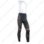 2015 Team Cervelo Cycling Long Bib Pants Black