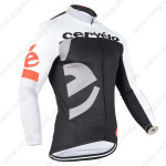 2015 Team Cervelo Cycling Long Jersey Black