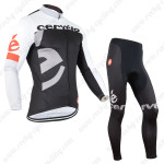2015 Team Cervelo Cycling Long Kit Black