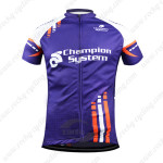 2015 Team Champion System Cycling Jersey Purple