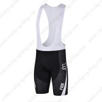 2015 Team FOX Bicycle Bib Shorts Black Blue