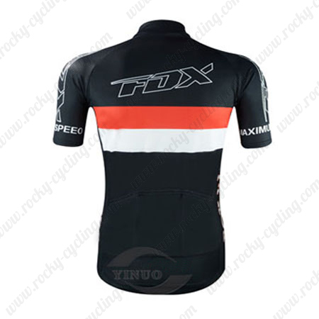 2015 Team FOX Riding Wear Bicycle Maillot Jersey Tops Shirt Black ... eff03660c