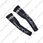 2015 Team FOX Cycling Arm Warmers Sleeves Black