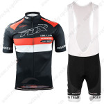 2015 Team FOX Cycling Bib Kit Black Red