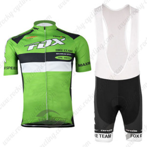 2015 Team FOX Cycling Bib Kit Green