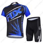 2015 Team FOX Cycling Kit Black Blue