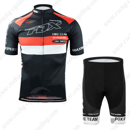 2015 Team FOX Cycle Clothing Biking Jersey and Padded Shorts Bottoms ... 06044b100