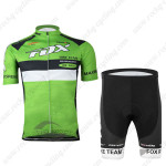 2015 Team FOX Cycling Kit Green