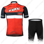 2015 Team FOX Cycling Kit Red