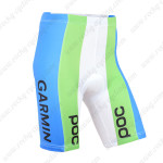 2015 Team GARMIN Cannondale Cycling Shorts White Green Blue