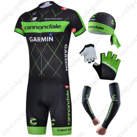 2015 Team cannondale GARMIN Pro Cycle Clothing Set Riding Jersey and ... bb391f923