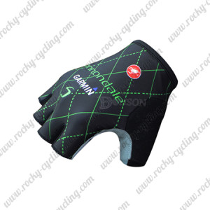 2015 Team GARMIN cannondale Cycling Gloves Black
