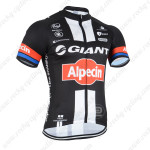 2015 Team GIANT Alpecin Cycling Jersey Black Red