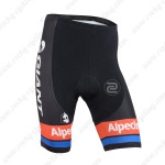 2015 Team GIANT Alpecin Cycling Shorts Black Red