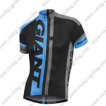 2015 Team GIANT Cycling Jersey Black Blue