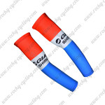 2015 Team GIANT SHIMANO Cycling Arm Warmers Sleeves Red Blue