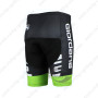 2015 Team GIORDANA Biking Shorts Black White