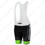 2015 Team GIORDANA Cycling Bib Shorts Black White