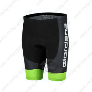2015 Team GIORDANA Cycling Shorts Black White
