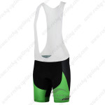 2015 Team HTC MERIDA Cycling Bib Shorts Black Green