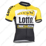 2015 Team LOTTO Cycling Jersey Yellow Blue