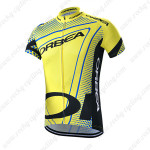 2015 Team ORBEA Bicycle Jersey Yellow