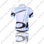 2015 Team ORBEA Cycling Jersey White