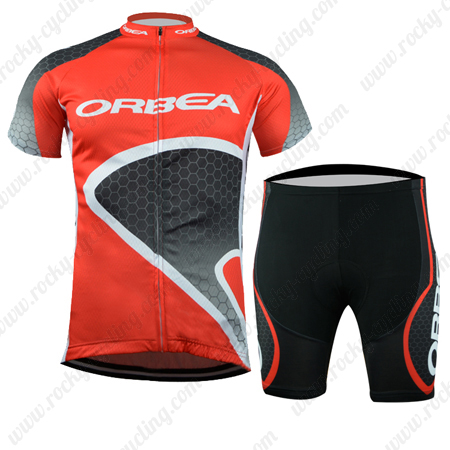 ... Jersey and Padded Shorts Bottoms Red. 2015 Team ORBEA Cycling Kit Red a5061adb9