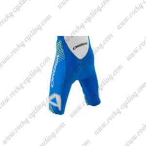 2015 Team ORBEA Cycling Shorts Blue