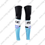 2015 Team QUICK STEP Cycling Leg Warmers Sleeves Black Blue