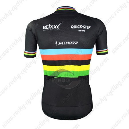 2015 Team QUICK STEP etixx Riding Wear Bicycle Maillot Jersey Tops ... 28fef1148