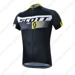 2015 Team SCOTT Bicycle Jersey Black Yellow