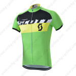 2015 Team SCOTT Bicycle Jersey Shirt Green